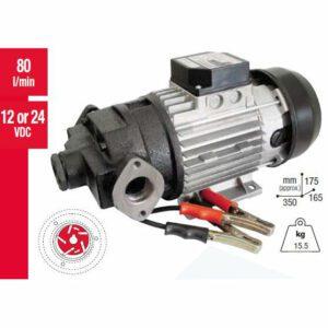 Gespasa 24 Volt Diesel Pump 80LPM No Switch
