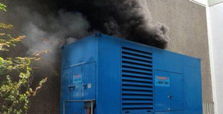 Diesel Generator blowing too much smoke